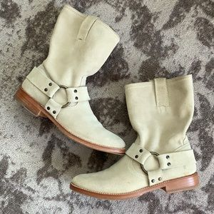 Frye Suede Leather Boots Size 8.5